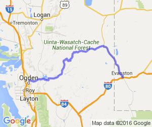 Route 89 - Evanston, WY to Ogden, UT |  Utah