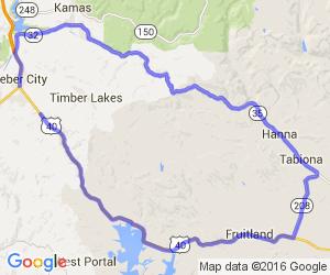 Heber to Hannah & the Wolf Creek Pass Loop |  Utah