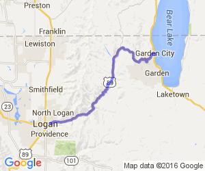 The Logan Canyon Run |  Utah
