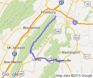 The Fort Valley & Thornton Gap Run |  Virginia