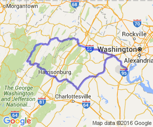 Woodbridge, VA to Seneca Rocks, WV and Back |  Virginia