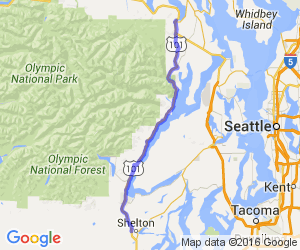 US Hwy 101 - Hood Canal to the North Shore |  Washington