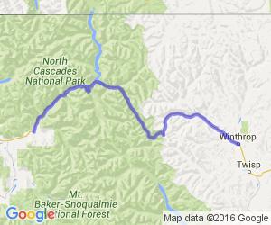Highway 20 Washington Pass |  Washington