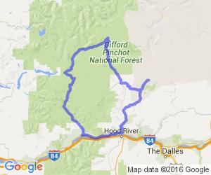 Columbia Gorge Forest Loop |  Washington