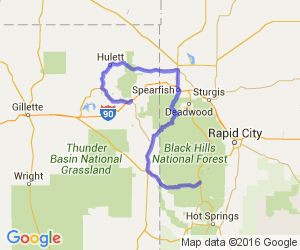 The Scenic Route from Custer, SD to Devils Tower, WY |  Wyoming