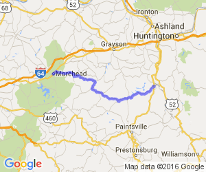 Route 32 - Morehead to Louisa |  Kentucky