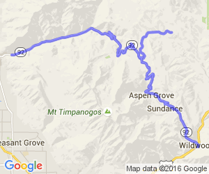 The Alpine Scenic Highway |  Utah