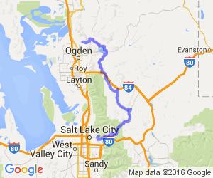 Back roads route from Ogden to Salt Lake |  Utah