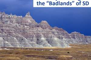 Best Badlands area motorcycle rides near the Sturgis Motorcycle Rally