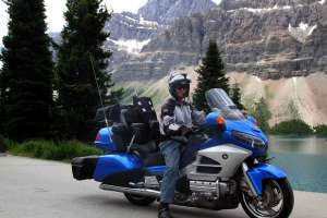 Icefields Parkway Canada motorcycle ride