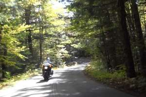 Fall Motorcycle Ride Through New England