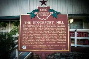 Stockport Mill Historical Marker