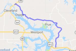 Rural Lake Keystone Ride |  Oklahoma