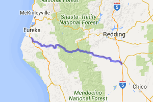 Twisty Road - Next 140 miles!!! (California Route 36) |  California