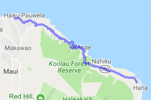 From Jaws to Hana - The Hana Highway    Hawaii
