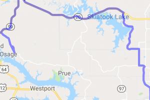 The Keystone Lake to Skiatook Lake Run |  Oklahoma