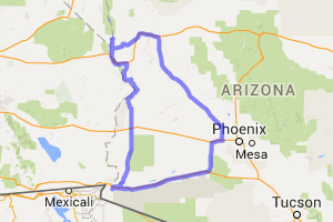 The Southwest Arizona Desert Triangle    Arizona