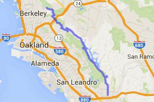 Castro Valley to Berkeley |  California