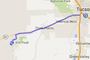 Tucson to the Kitt Peak National Observatory |  Arizona