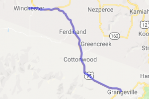 Camas Prairie Tour:  Grangeville to Winchester |  Idaho