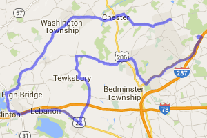 Mendham to Clinton Loop |  New Jersey