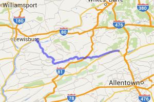 Route 54 |  Pennsylvania