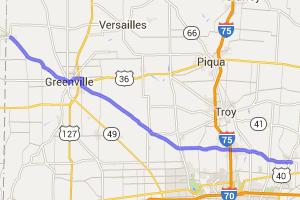 State Route 571 - New Carlisle to Union City |  Ohio
