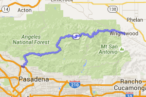 Angeles Crest Highway |  California