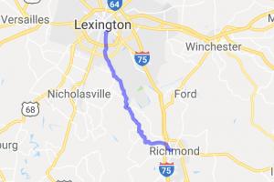 Tates Creek Road - Lexington to Richmond |  Kentucky