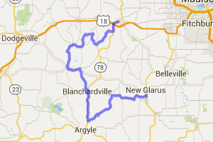 Mt. Horeb to New Glarus, The Long Way |  Wisconsin