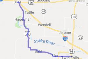 US 30 through Hagerman |  Idaho