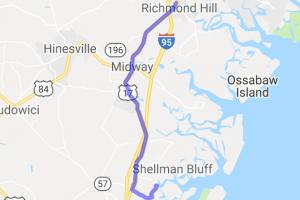 Richmond Hill to Pelican Point Restaurant |  Georgia