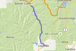 Leadville to Minturn on US 24 |  Colorado