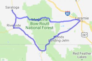 Snowy Range & Woods Landing Loop |  Colorado