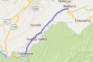 Foothills Parkway - US321 to US129 segment |  Tennessee