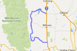 Rolling Foothills Loop Near Chico |  California