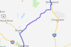 Laramie to Wheatland via Route 34 |  Wyoming