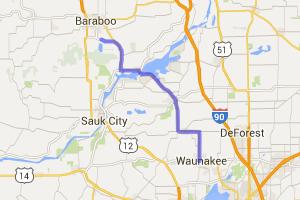 Waunakee to Devils Lake |  Wisconsin