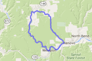 Renovo to Kettle Creek Loop    Pennsylvania