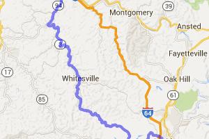 Marmet to Beckley via Routes 94 & 3 |  West Virginia