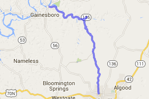 Dodson Branch Highway 135 |  Tennessee