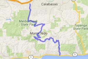 Las Flores Canyon Road to Piuma Road |  California
