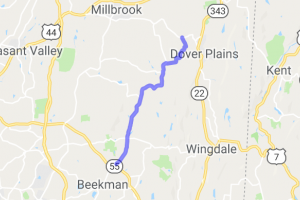 Route 9 to Route 24 in Dutchess County NY |  United States