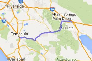 The Palms to Pines Tour    California