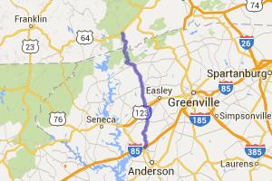 US 178 - Pickens, Moorefield, and Liberty Highways |  North Carolina