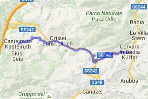 Gardena Pass - Dolomites |  Italy