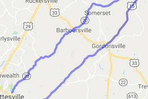 The Constitution Route Middle Loop    Virginia