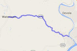 Route 676    Ohio