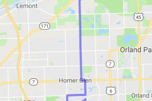 SW Chicago Quick Scenic Loop |  Illinois