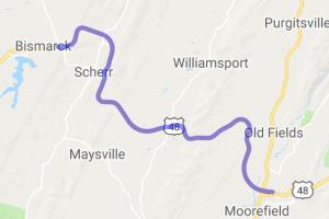 US Route 48    West Virginia